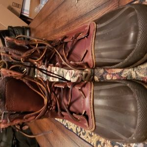 SPERRY mens water proof hunting boots